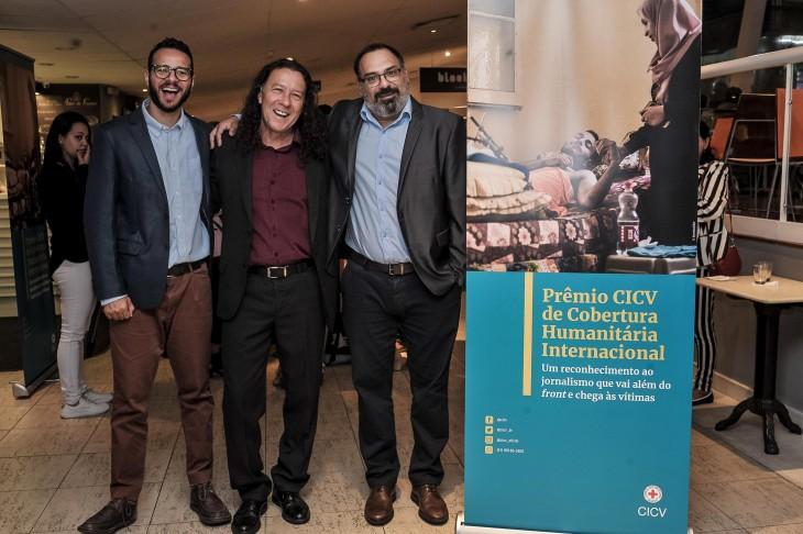 Foto: GloboNews vence Prêmio CICV de Cobertura Humanitária Internacional 2019
