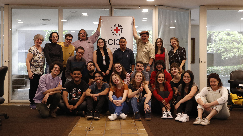 Foto: Avaliação coletiva encerra 18º curso de Jornalismo em Guerra e Conflitos Armados