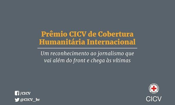 Foto: CICV entrega Prêmio de Cobertura Humanitária em São Paulo e promove debate com finalistas